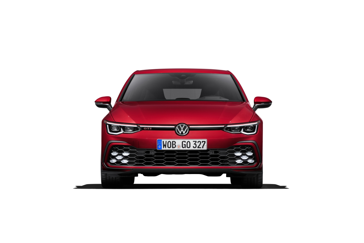 2020 Golf GTI front