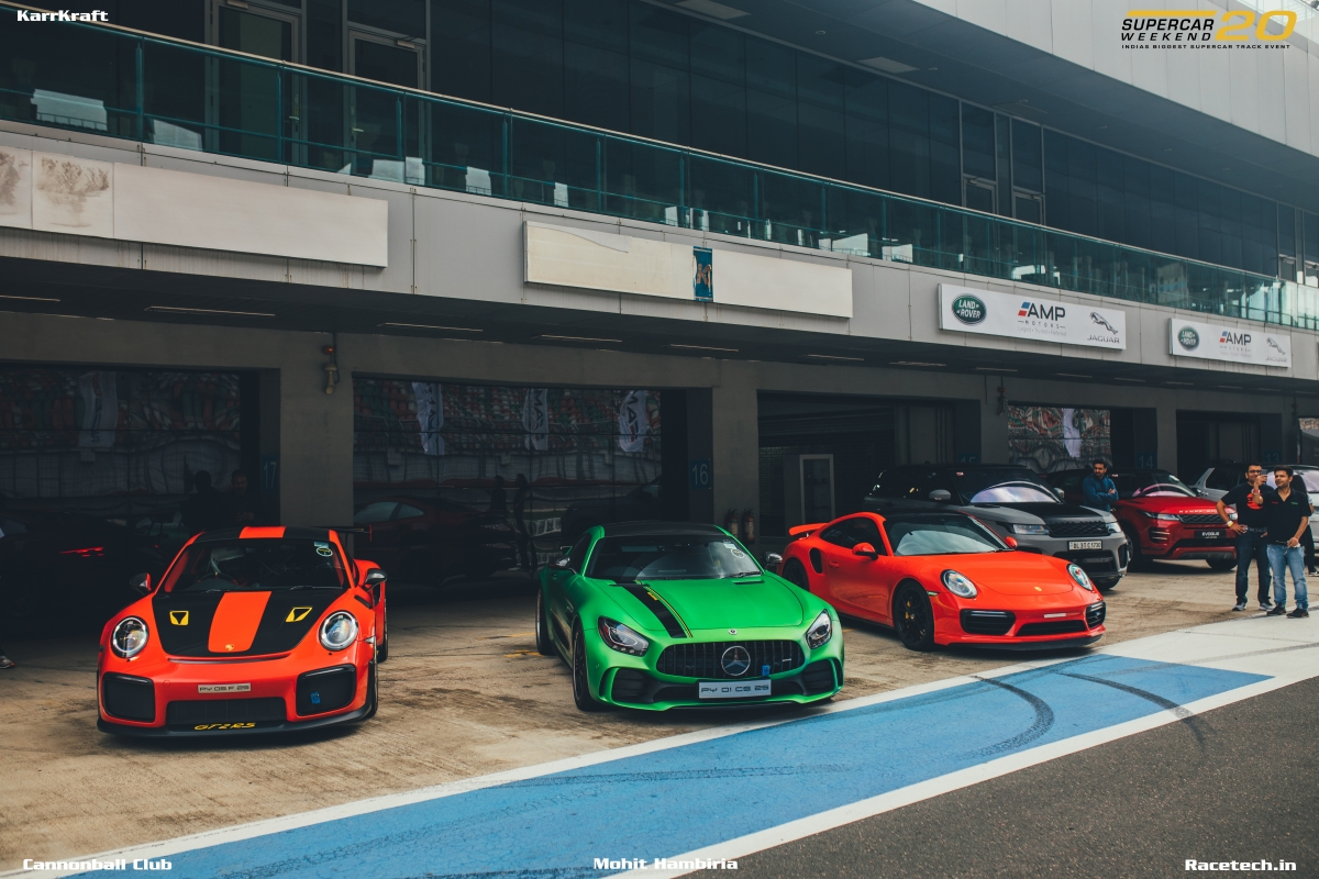 Supercar Weekend 2020 was India's biggest supercar track day