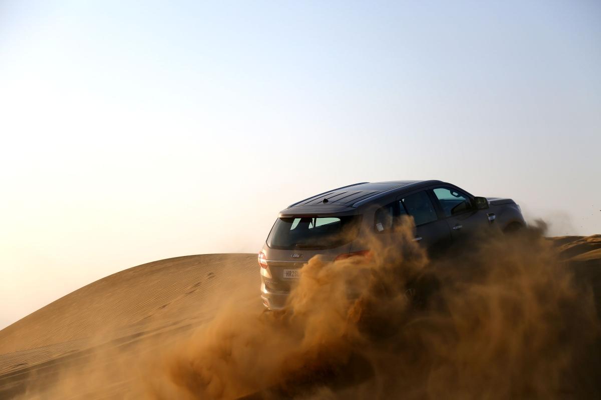 Dune bashing is pure sensual pleasure