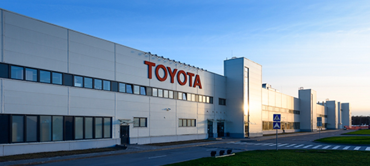Toyota Motor Europe too stops production across its plants