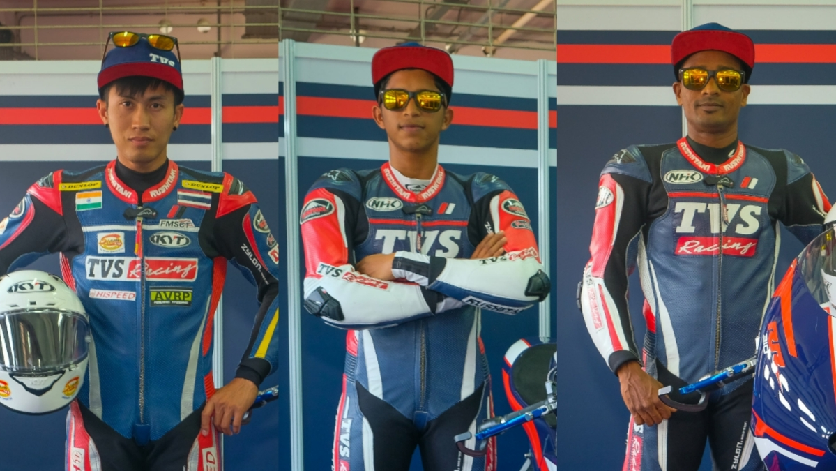 TVS Motor Company will field riders Jagan Kumar and KY Ahamed from India, and Vorapong Malahuan from Thailand