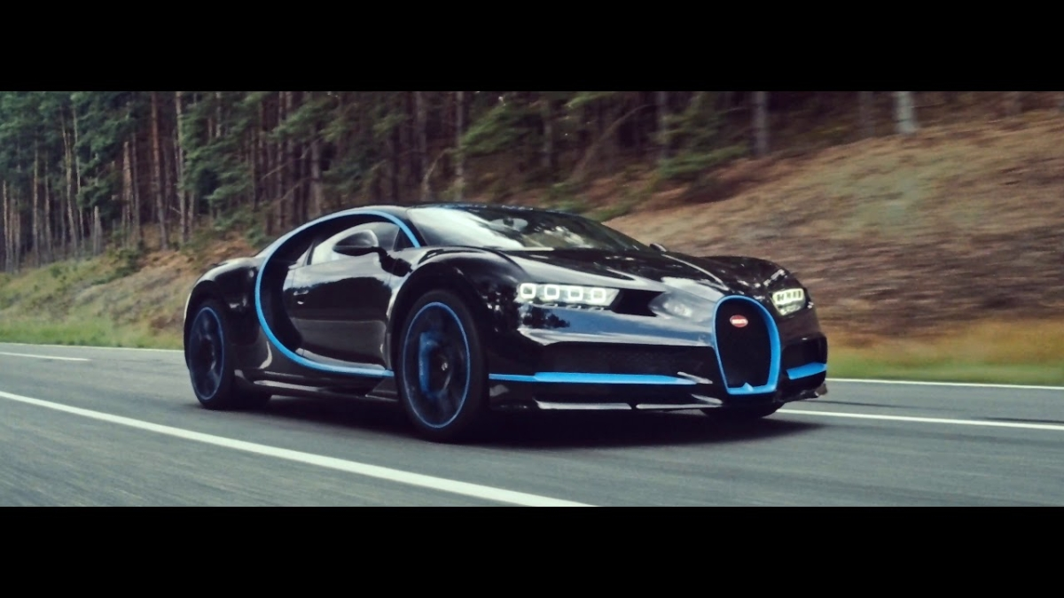 How do you film a record run for the Bugatti Chiron