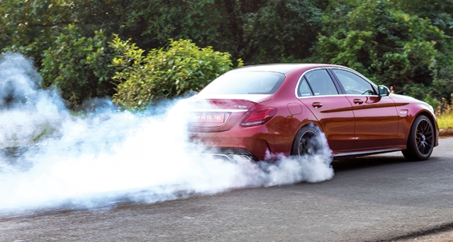 Keeping up with the C 63's heavy smoking habit