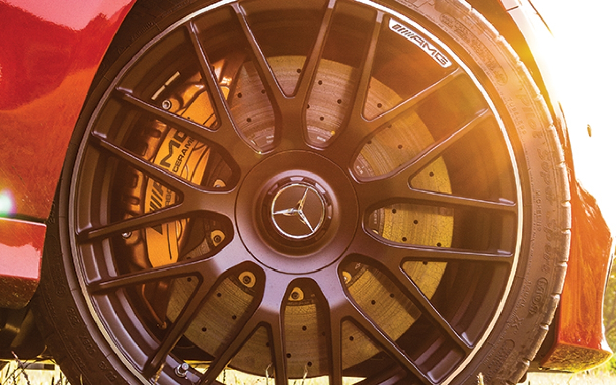 Mercedes – AMG C 63 S : Riot act