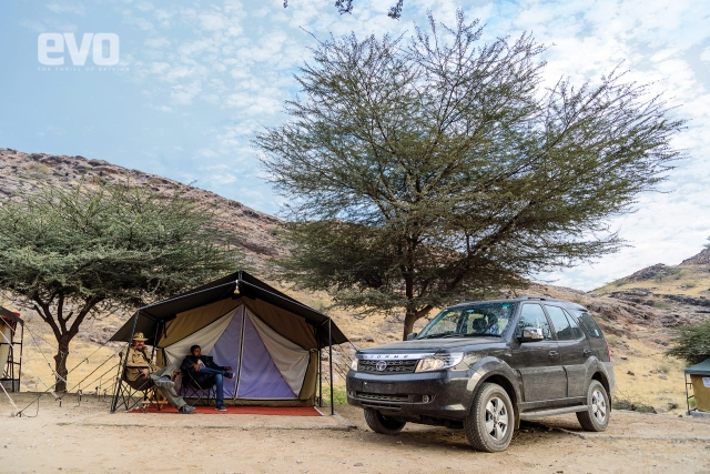Dune bashing with the Tata Safari Storme