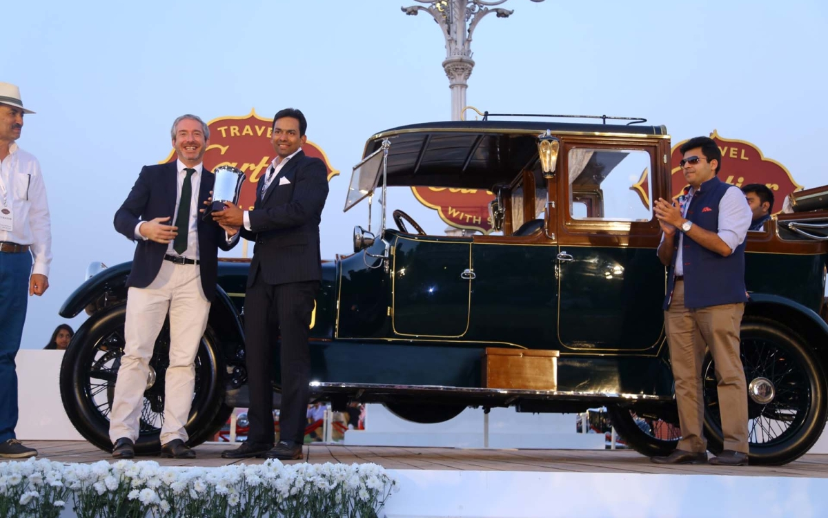 Indian Automotive Heritage Celebrated at Cartier Concours