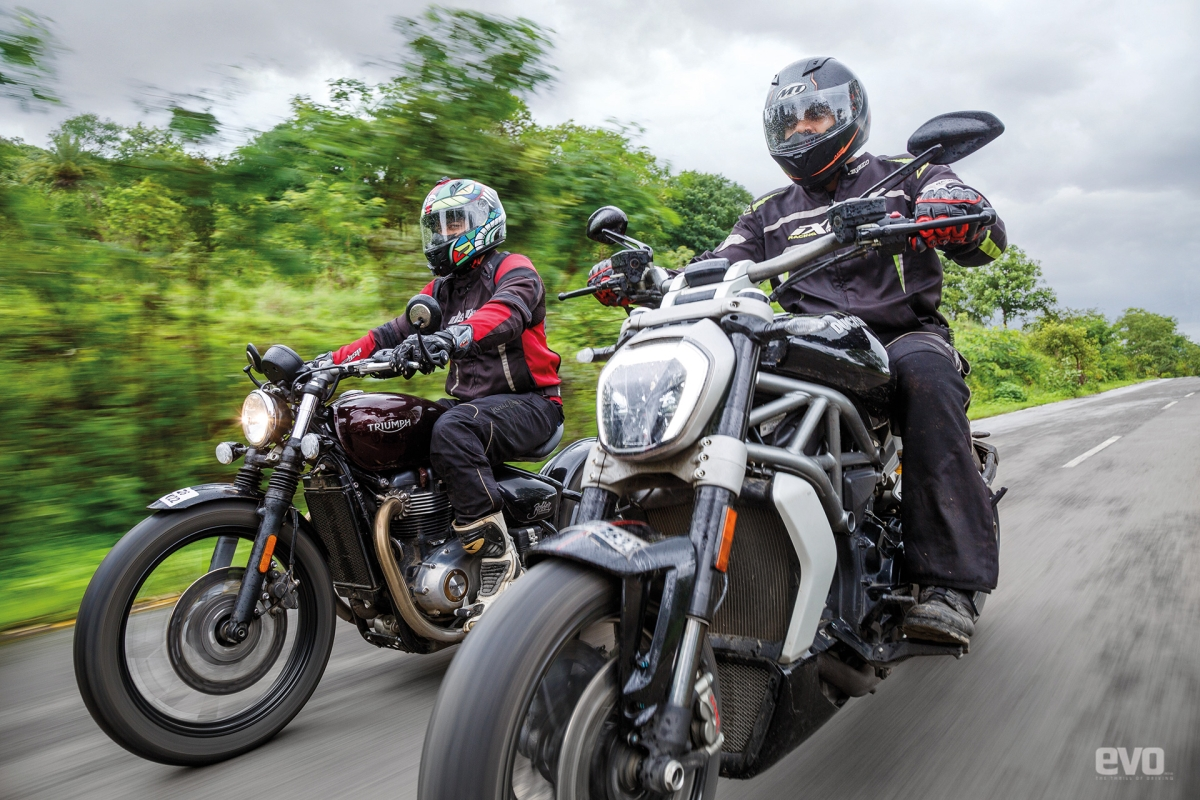 Be sure that the XDIavel S will happily leave the rest of the pack smoking in its wake