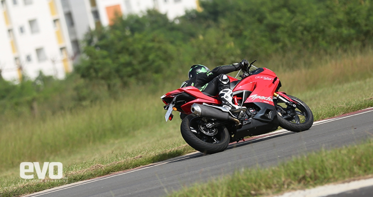 First Ride Review: TVS Apache RR 310