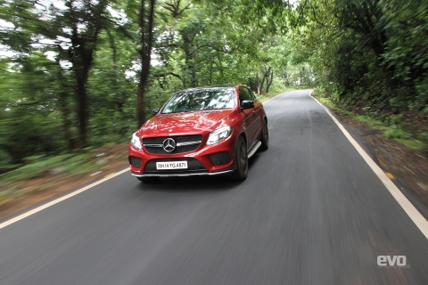 AMG Hill Climb: Driving the Mercedes-AMG GLE 43 Coupe to Chorla ghat