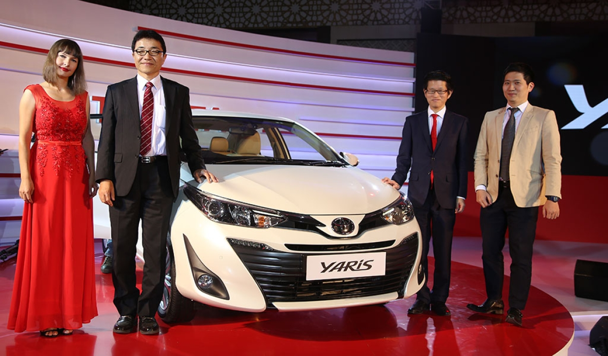 Auto Expo 2018: Toyota unveils the Yaris