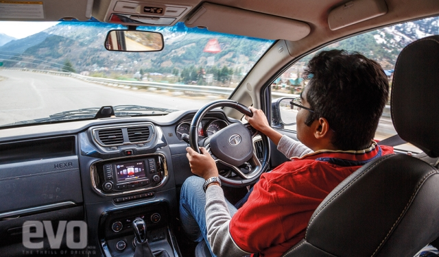 White Knight: Driving the Tata Hexa to Rohtang pass