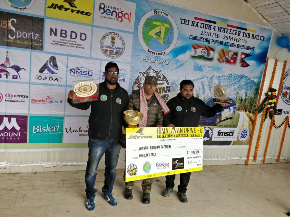 Defending champs Ali and Musthafa retained the crown