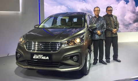 New Suzuki Ertiga showcased at the IIMS 2018