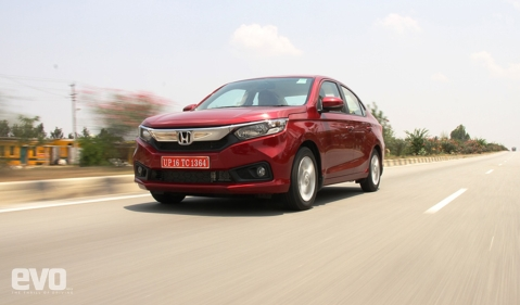 All new Honda Amaze driven: With CVT on diesel can it take