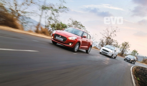 Diesel hatchbacks: Swift v Volkswagen Polo GT TDI v Ford Figo S