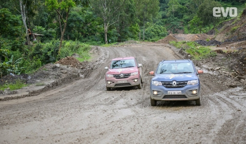 Day 9: The Renault Kwid continues to brave tough conditions