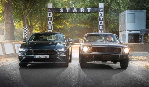 Ford brings its iconic 'Bullitt' movie Mustang to the Goodwood Festival of Speed