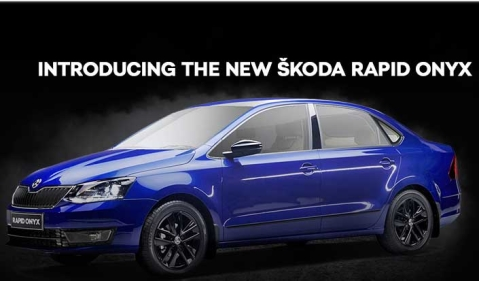 Skoda has introduced the new Rapid Onyx at Rs 9.75 lakh