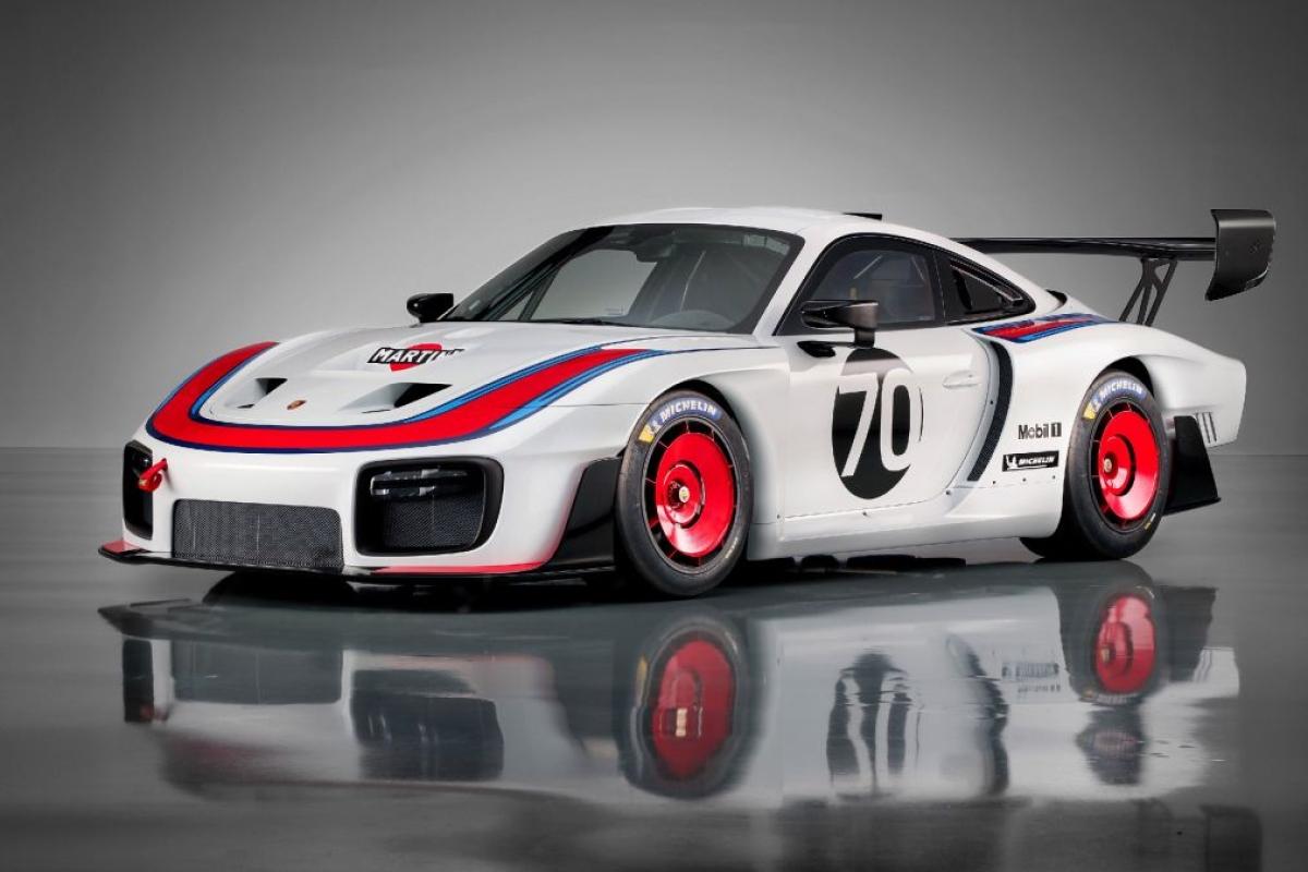 Porsche reveals 911 GT2 based 935 Racer at Laguna Seca