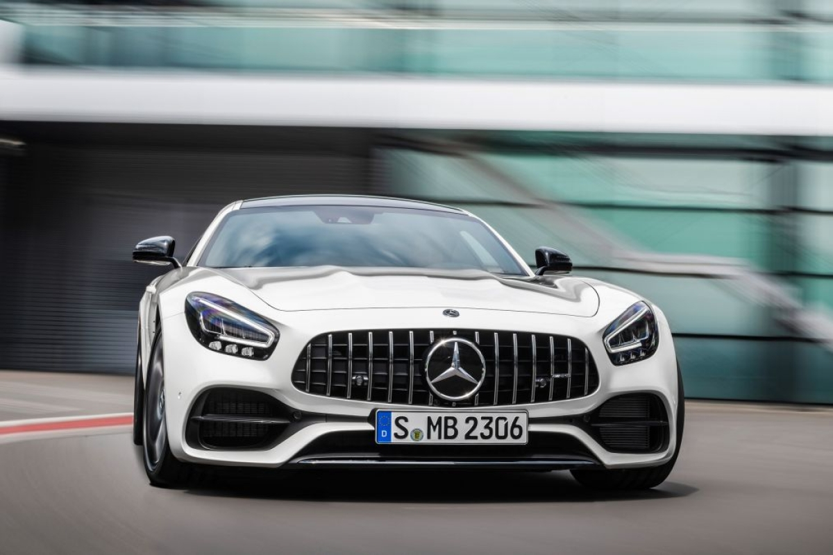 Facelifted Mercedez-Benz AMG GT and GT PRO revealed at LA Motor Show