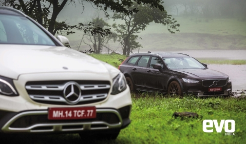 All-terrain Wagons – Mercedes-Benz E 220d vs Volvo V90 Cross Country