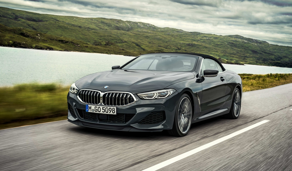 BMW has launched a new 8 series convertible for 2019
