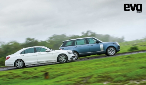 Cocooned in luxury: Range Rover vs Mercedes-Benz S-Class