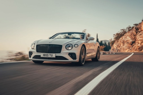 New Bentley Continental GT Convertible – 626bhp drop-top revealed