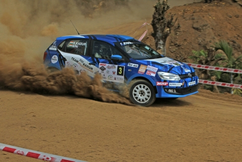MRF INRC round 4 – Karna Kadur and Nikhil Pai win Coffee Day India Rally
