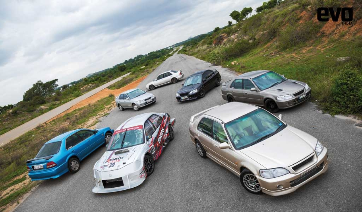 Enthu Cutlets: The fastest Honda City VTECs in the country