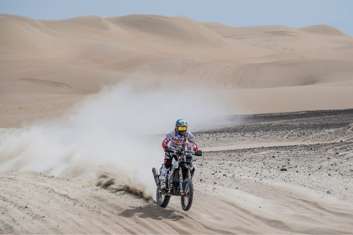 Dakar 2019 stage 2: CS Santosh drops to 33rd position overall