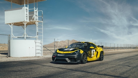 Porsche unveils the track-only 718 Cayman GT4 Clubsport