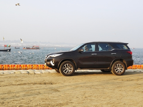 Toyota River Drive: Upper Ganga: Day two with the Fortuner