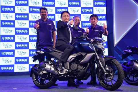 New Yamaha FZ-FI range launched in India at Rs 95,000