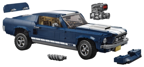 Fancy a 1967 Ford Mustang Lego Toy?