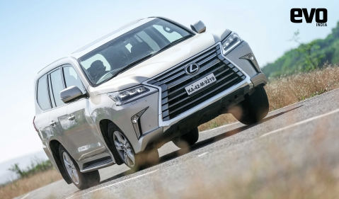 Lexus LX 450D test drive review – Big, bad and bonkers!