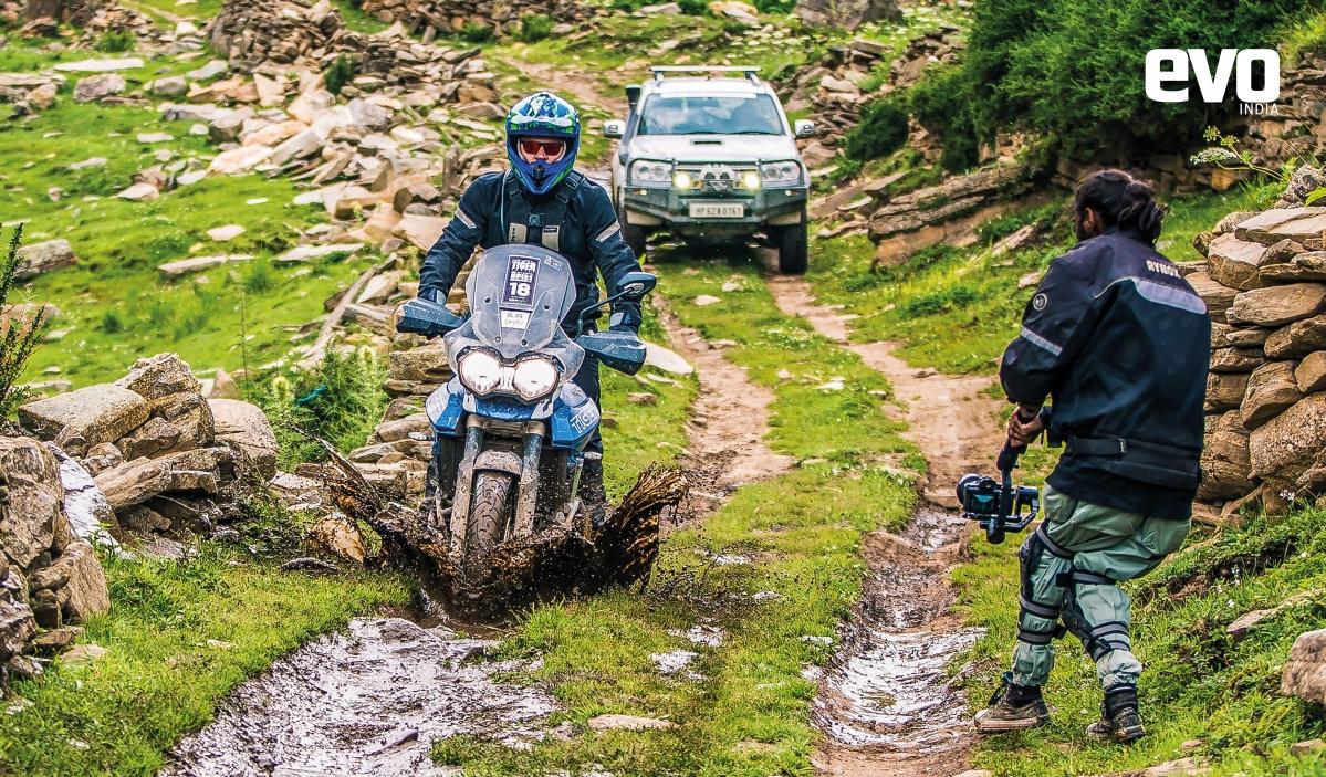 Exploring Spiti valley on a Triumph Tiger XRx