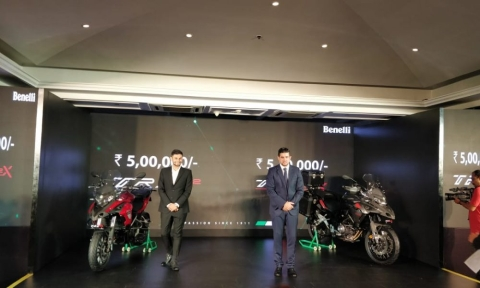 Benelli launches TRK 502 and 502X in India
