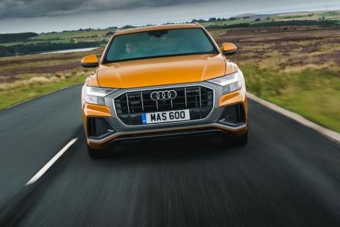 Audi Q8 50 TDI S-line test drive review