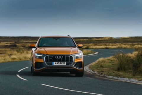 Audi Q8 50 TDI S-line test drive review