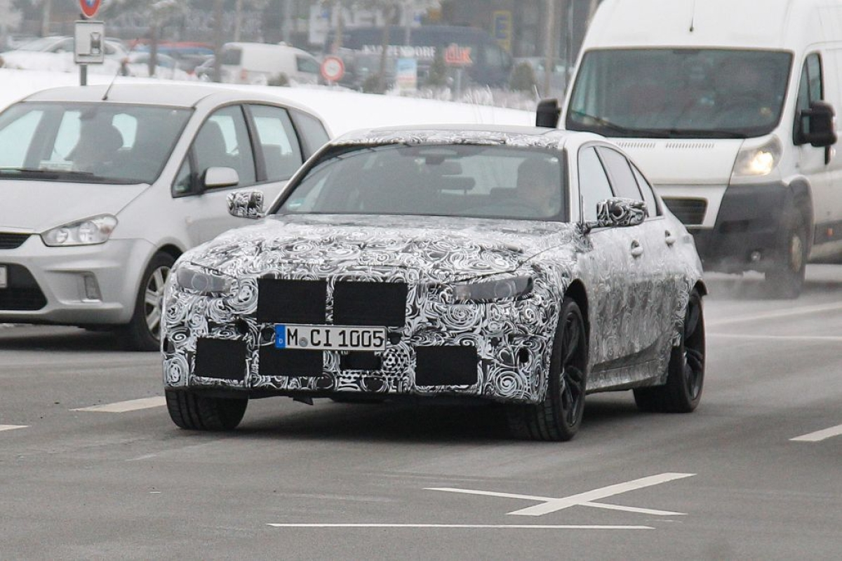 2019 BMW M3 saloon caught testing – but what will lie underneath?