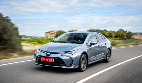 All new Toyota Corolla unveiled for the European markets