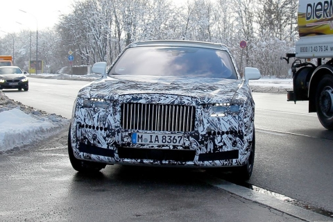All-new Rolls-Royce Ghost spotted testing internationally