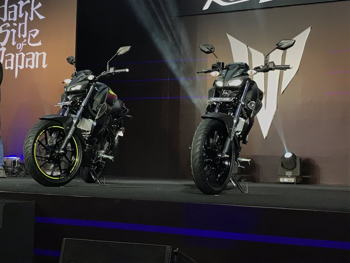 Yamaha MT-15 launched in India at Rs 1.36 lakh