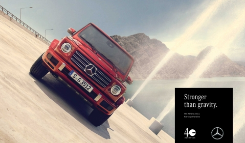 40 years of Mercedes-Benz G-Class – the drive along dam walls