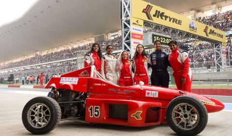 Women's Day special: Ahura Racing, India's only all women's team in Formula racing