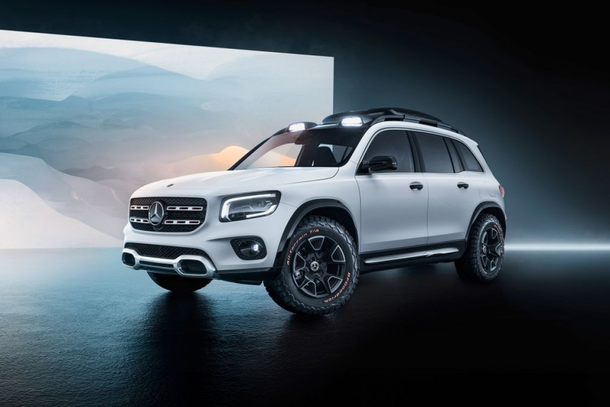 Mercedes-Benz GLB SUV revealed as near-production concept