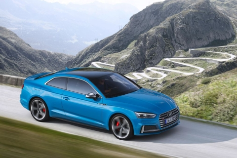 Audi S5 TDI revealed with mild-hybrid V6 diesel from S6 and SQ5