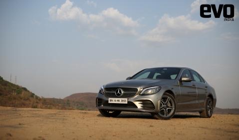 Mercedes-Benz C 300d AMG Line test drive review