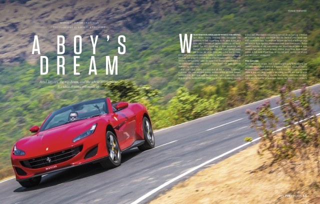 Aston Martin and Ferrari doing a one-two punch in the April issue of evo India – on stands now